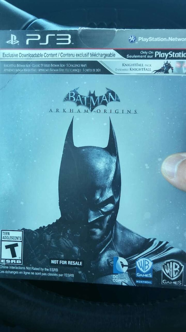 Batman ps3 game