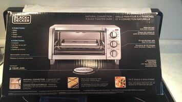 Brand new black and decker bake broil and toast