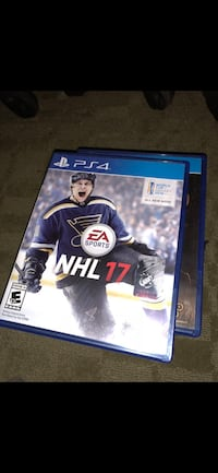 NHL 17 PS4 game case