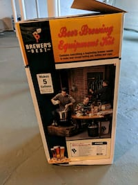 Brewers best 5 gallon beer making kit Cranston, 02910