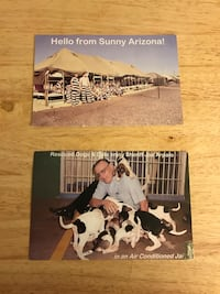 2 Collectable Postcards of Sheriff Joe Arpaio's infamous Tent City Jail in Arizona Atlanta, 30307