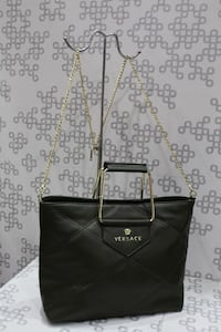 Versace quilted Black Leather Tampa, 33625