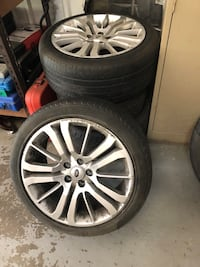 Range Rover rims and tires