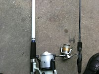 gray and black fishing rod Portsmouth, 23707