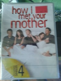 Dvd season 4 -How I met your mother  Barrie, L4M 5S1