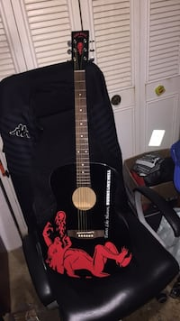 Fireball guitar with backpack carrying case Coquitlam, V3K 5A9