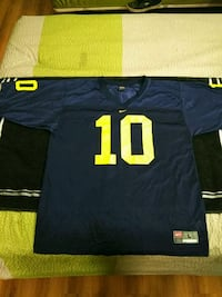 Nike Large #10 blue and gold jersey Knoxville, 37923
