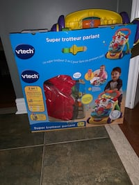 Brand new vtech learning walking toy - in French