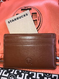 Starbucks Leather Credit Card Holder Haymarket, 20169