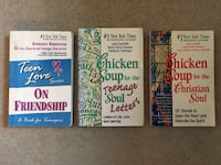 3 Chicken Soup for the Soul Books. Ankeny