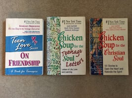 3 Chicken Soup for the Soul Books
