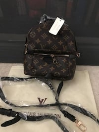 QUICK SALE! LV MINI LEATHER BROWN BACKPACK $80 OR BO
