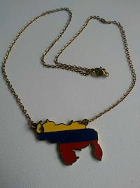 Venezuela Country Necklace Metairie, 70003