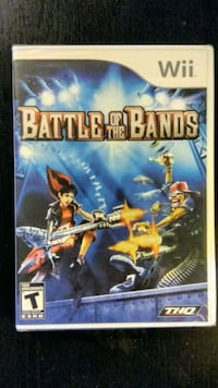 FACTORY SEALED!! Nintendo Wii Battle of the Bands New Westminster, V3M 3Y3