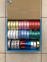 NEW 35 Multicoloured Ribbon Set
