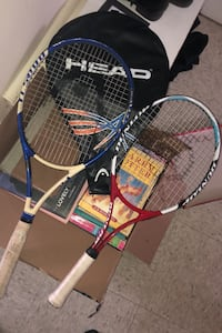 Tennis rackets and case Whitby, L1N 2P1