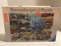 "3000 piece Ravensburger Puzzle ""Oceanic Wonders"" Woodbridge, 22193"