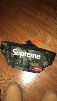 black and green camouflage Supreme fanny pack Bowie, 20721