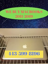 Macbook Air 256 GB Millersville