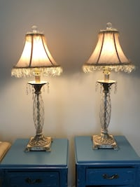 2 Side Table Lamps