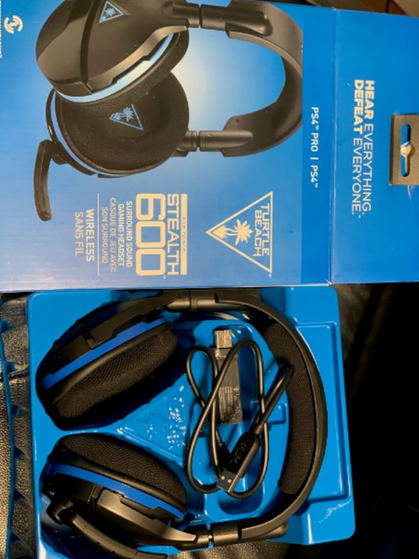 Used Turtle Beach Xb1 Stealth 600 Gaming Headset For Ps4 Pro And