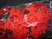 .50 cents for 10 Pcs. Christmas Cookie Cutters Hamilton