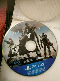 Destiny Sony PS4 game disc Selkirk, R1A 0K8