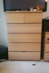 Malm ikea 6  drawer chest Bowie, 20716
