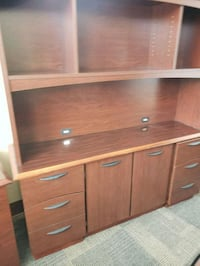 brown wooden cabinet with drawer Hampton, 30228