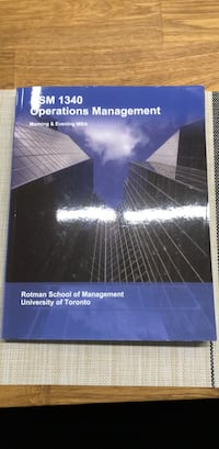 Like new operations management textbook 536 km