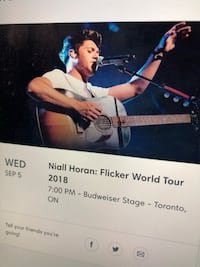 Niall Horan tickets Vaughan