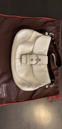 Authentic Coach LEATHER bag.  Mississauga, L4Y 1N2
