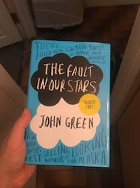 (SIGNED) Fault in Our Stars book Calgary, T3E 3G5