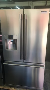 stainless steel french door refrigerator Toronto, M6H