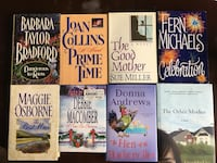 six assorted novel books collection Middleville, 49333