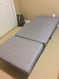 IKEA pull out bed + grey mattress  Surrey, V3T 0A2