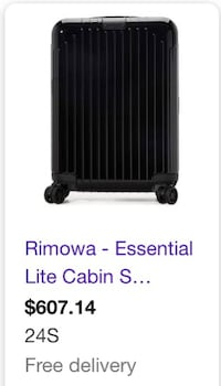 Rimowa Carry On Suitcase