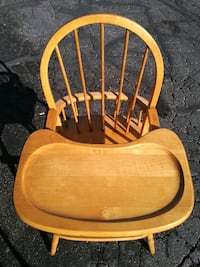 Wooden high chair West Valley City, 84119