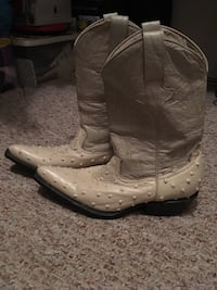 Authentic Ostrich boots*** never worn reduced Shelbyville, 37160