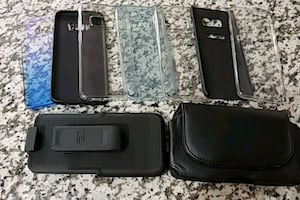 Galaxy S8 Cases and Holster Clip & Belt Pouch