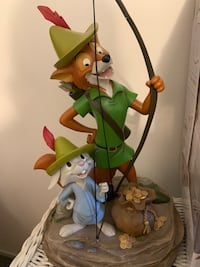 Robin Hood And Skippy Statue 40th Anniversary Disney Parks Collection Manchester, 03103