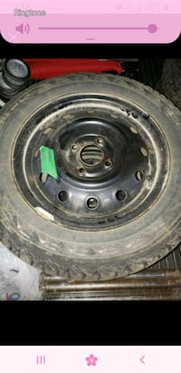 Barely used winter tires Ottawa