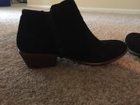 pair of black suede boots Virginia Beach, 23452