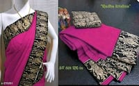 Chanderi Cotton Saree New Delhi, 110044