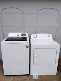 white washer and dryer set Midwest City