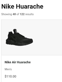 Nike Hirache (Size 12)but seem to fit more like 11 Atlanta, 30303
