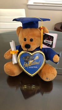 yellow and blue bear plush toy Bethesda, 20816