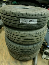 am selling two BRAND NEW 215/65R15 m+s MICHELIN  Coquitlam, V3B