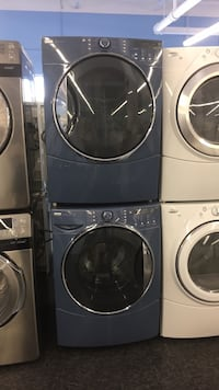 two gray front-load clothes washer and dryer set Toronto, M3J 3K7