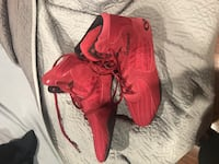 Pair of red Otomix wrestling/lifting shoes Arlington, 22204